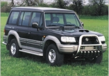 Farol lado Direito p/ Hyundai Galloper Ano 98 e 99
